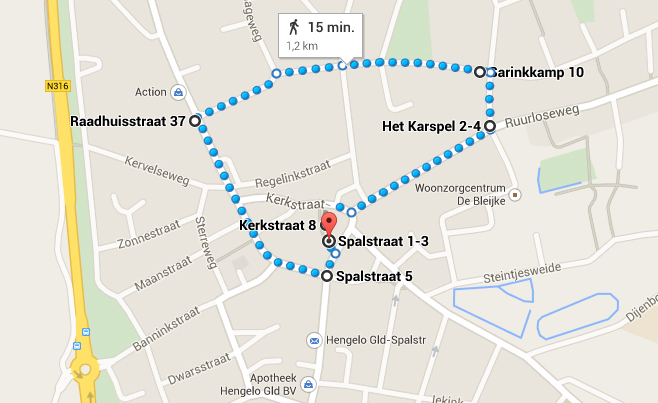 route optocht